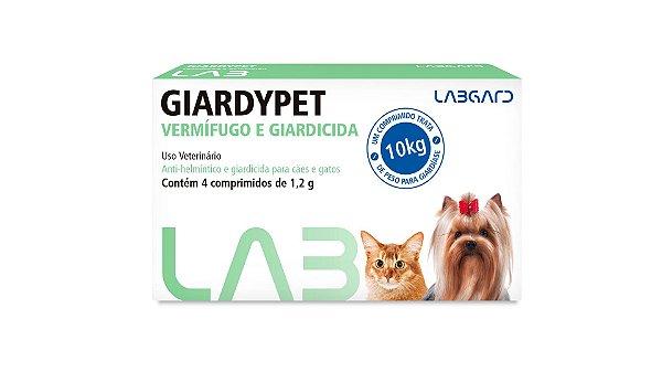GiardyPet - Vermífugo e Giardicida - 04 Comp.