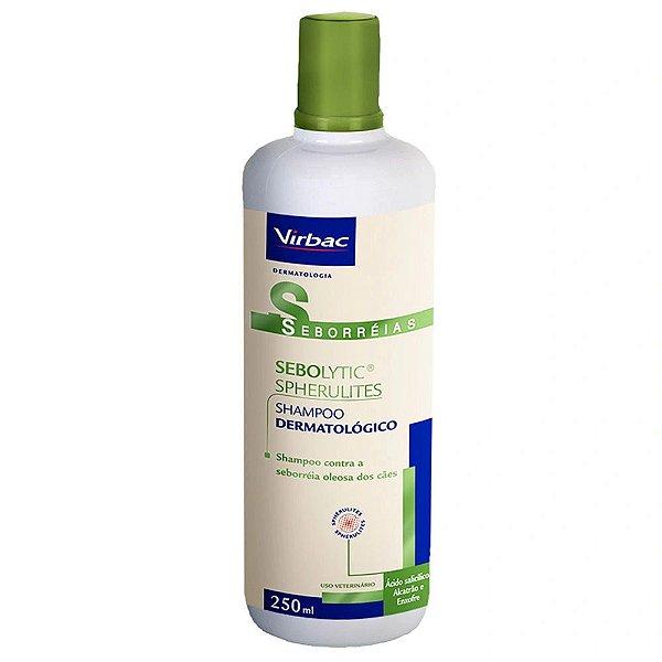 Shampoo Sebolytic Spherulites 250mL - Virbac