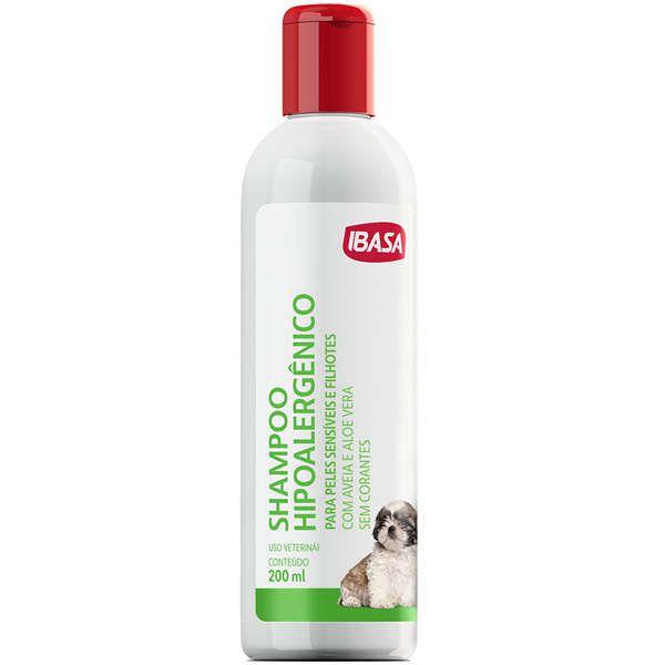 Shampoo Hipoalergênico 200mL - Ibasa