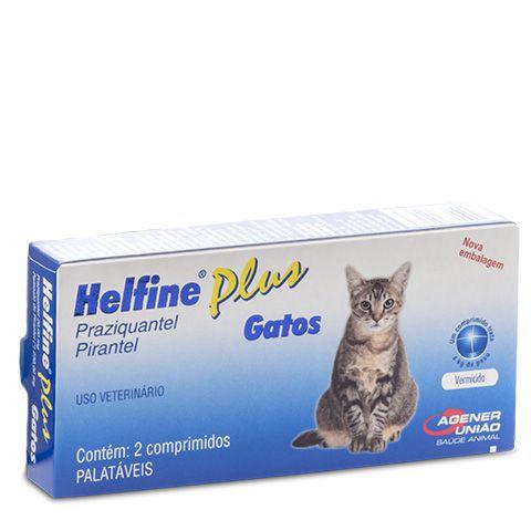 Vermífugo Helfine Plus Gatos