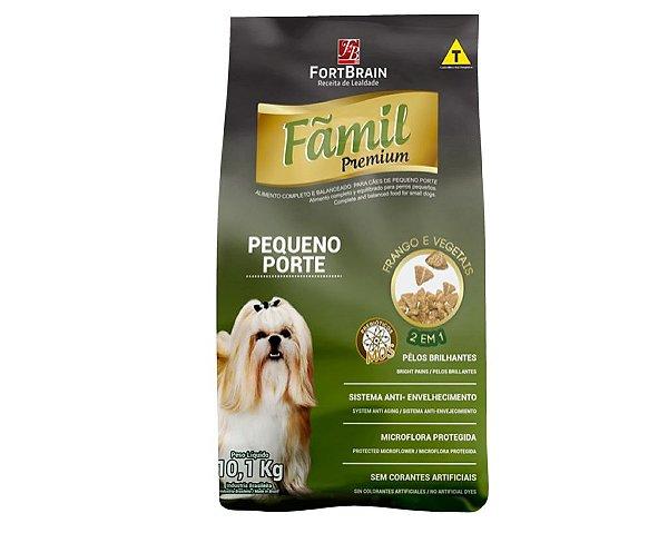 Fãmil Premium 101Kg para cães Peq. Porte - Frango e Vegetais