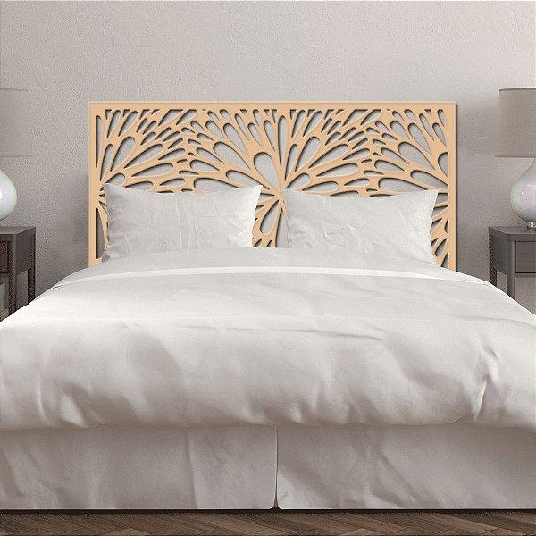 Cabeceira de cama Solteiro Dente de Leão 90x51cm - 6mm - MDF Natural (sem pintura)