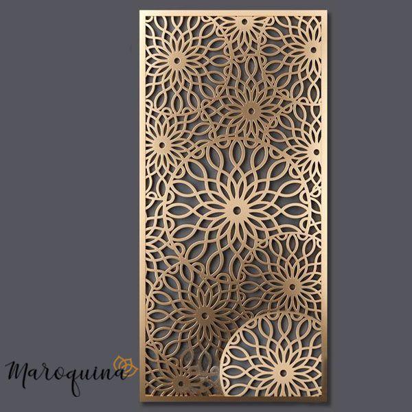 Revestimento para Portas Marroquino MARRAKESH em mdf cru - 190 x 69 cm
