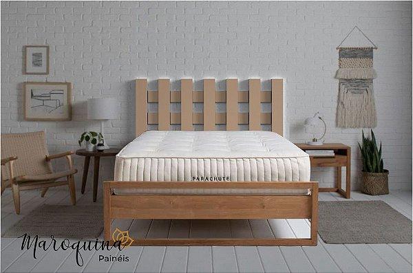Cabeceira Cama Casal Fences 140 x 70 cm em mdf cru 12 mm