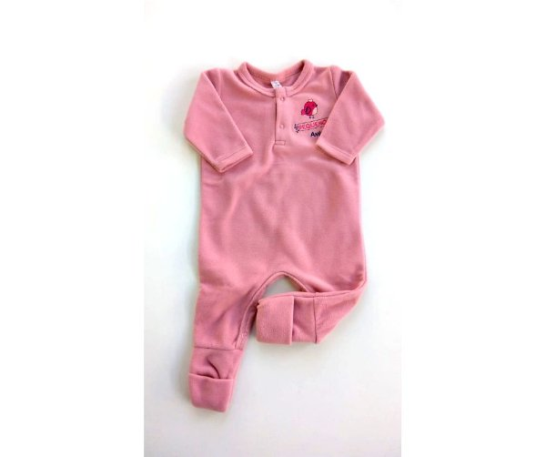f567ce12b Pijama Infantil Soft Fleece Macacão Malwee - Compre Pijama