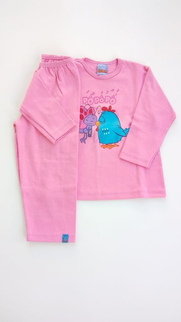 31635c655 Pijama Infantil Galinha Pintadinha Malwee - Compre Pijama
