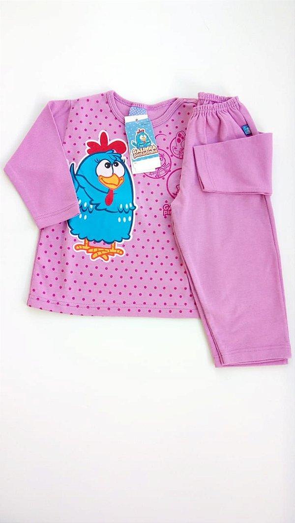afb943329 Pijama Infantil malwee Galinha Pintadinha Poá - Compre Pijama