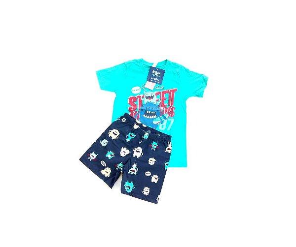 953361bc5 Pijama Infantim Malwee Masculino Monstrinho - Compre Pijama