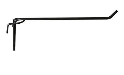 Gancho 4 mm p/ Tela - Cx 25 Unid. PRETO
