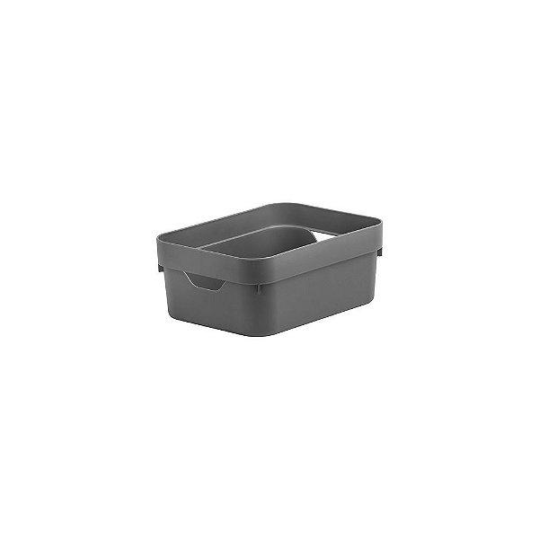 Caixa Organizadora Cube Mini 2 Litros 20 x 14,5 x 8cm