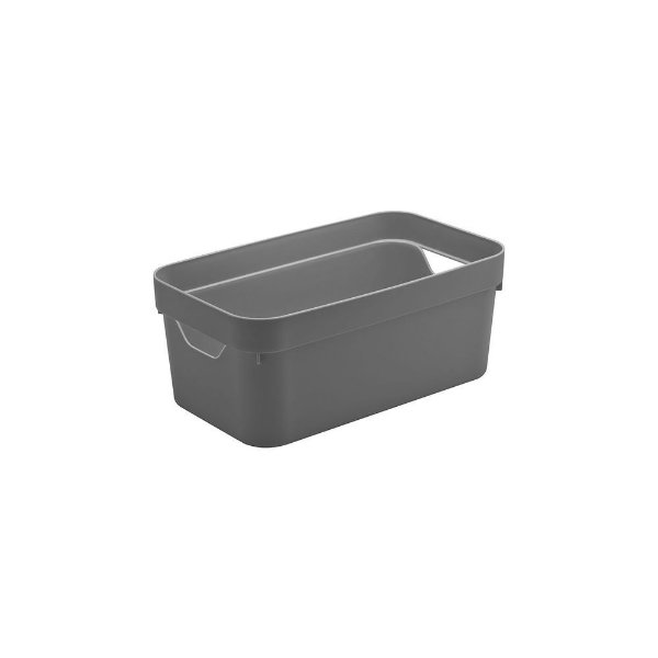 Caixa Organizadora Cube 5,3 Litros 29,5 x 16,5 x 12,5cm