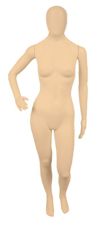 Manequim Plástico Feminino - Com Cabeça - (R.5245, K.5245, P.5245)