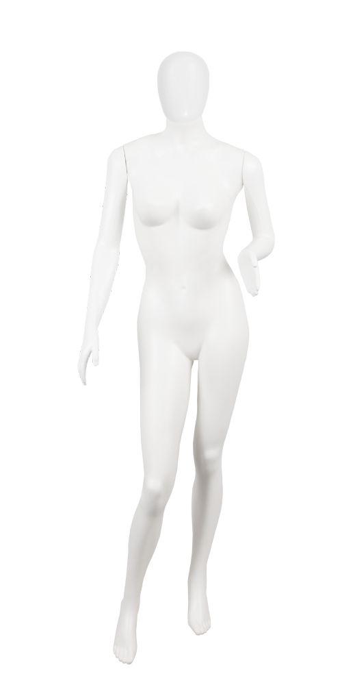 Manequim Plástico Feminino - Com Cabeça - (P.5645C, K.5645C)
