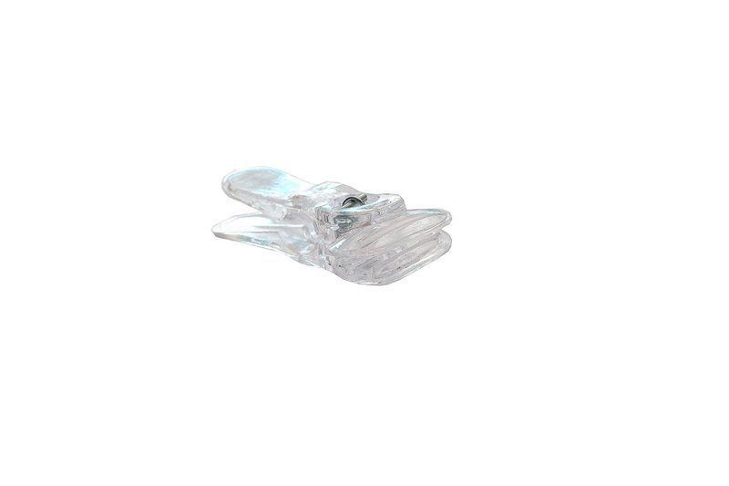 Presilha Transparente Mini - Cx 100 Unid.