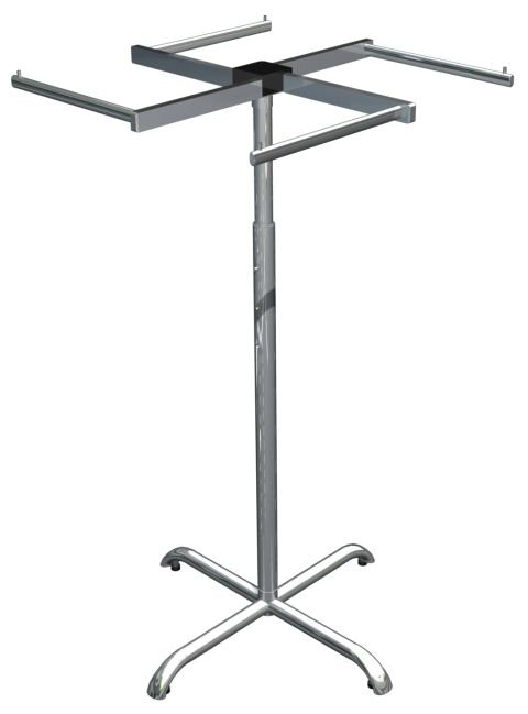 Arara Suástica Cromada - 80 x 124 cm