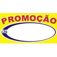 Etiqueta Oferta/Promoção - 70 mm x 37 mm - Pct 50 Unid.