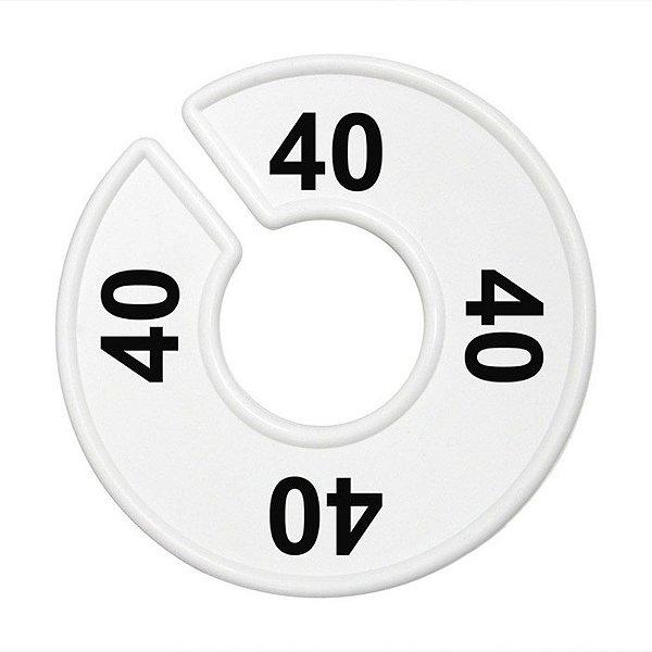 Separador Numérico para araras - 40 ao 54