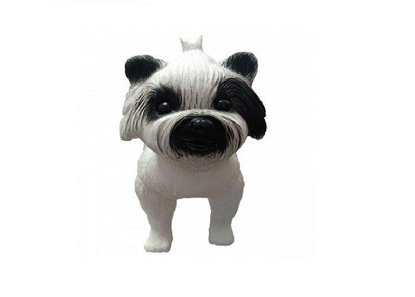 Manequim Plástico - Cachorro P/ Pet Shop (Maltes)