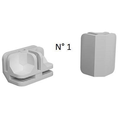 Conectivos Plásticos Branco