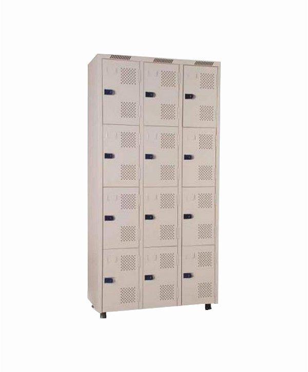 Roupeiro 12 Portas - 93 x 198 x 42 cm