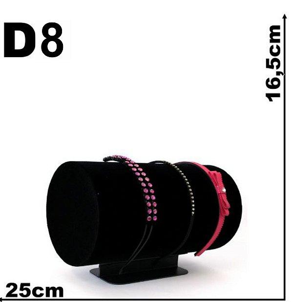 Expositor Veludo Tiara - 25 cm - 134 mm