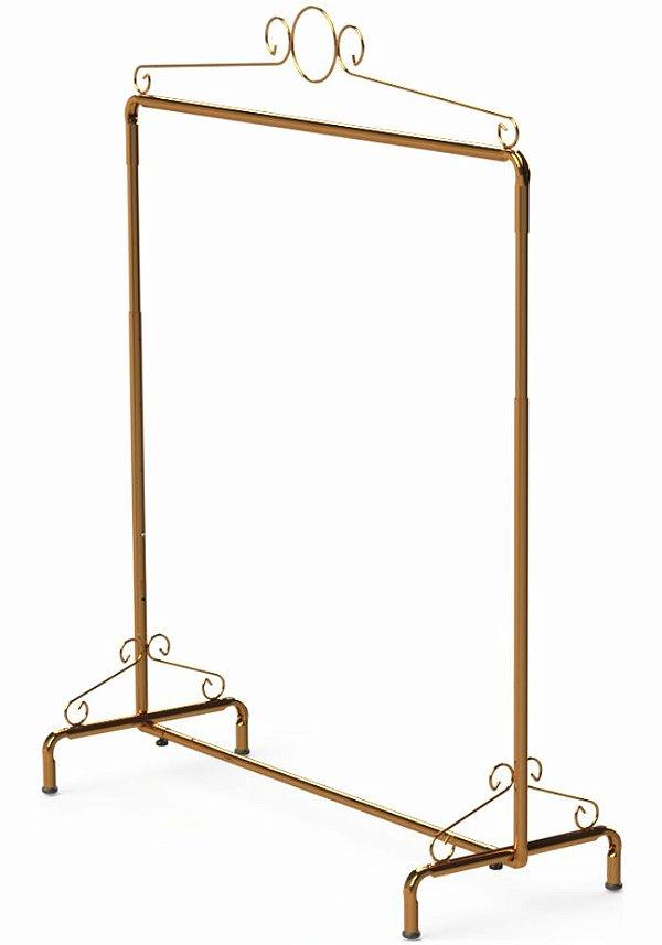 Arara Desfile Retro Ouro  - 122 x 110 até 190 x 47 cm