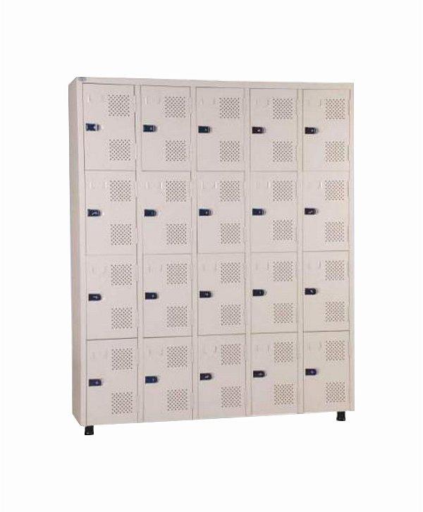 Roupeiro 20 Portas - 154 x 198 x 42 cm