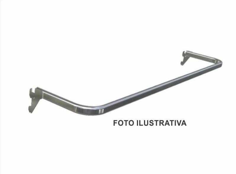 Arara Fixa Cremalheira Tubo Oblongo - 120 cm