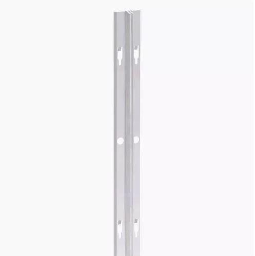 Cremalheira Alumínio Anodizado Simples - 18 mm