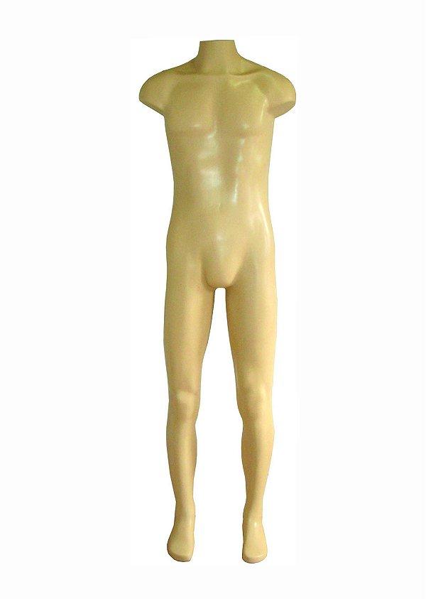 Manequim Plástico R.19 Masculino Bege