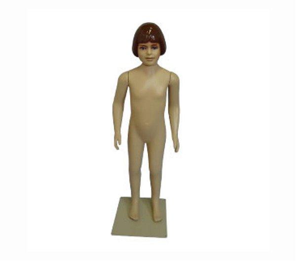 Manequim Plástico R.3231 Infantil Feminino Bege