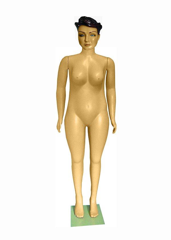 Manequim Plástico R.4950 Feminino Mulher Gorda