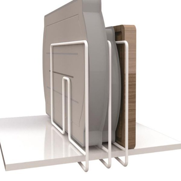 Separador De Prateleiras E Formas Essence - 25 x 8 x 20 cm