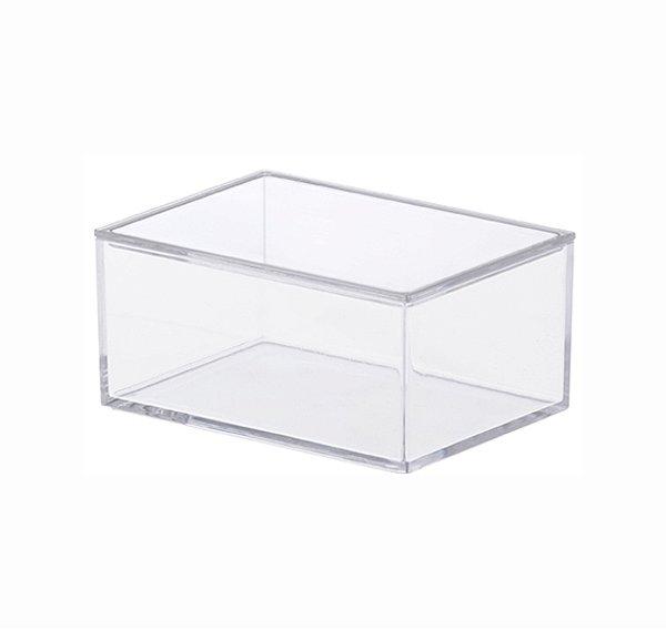 Caixa Organizadora Com Tampa Pequena - 11 x 5,5 x 8 cm