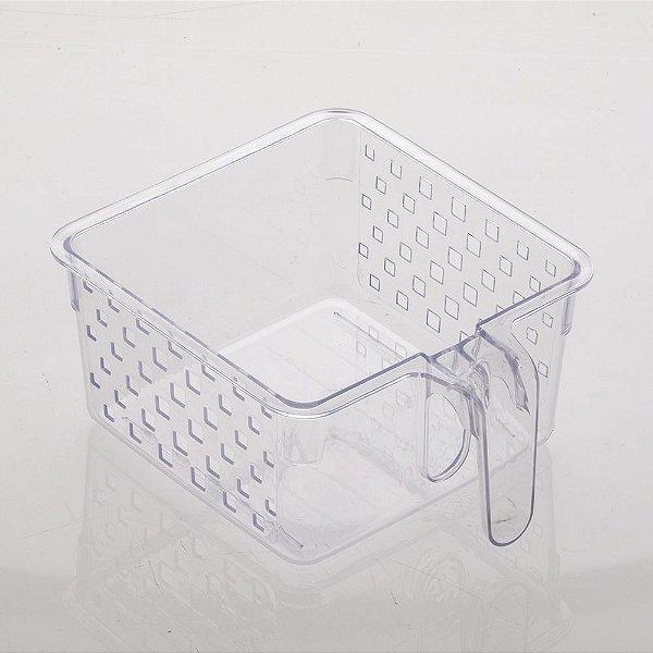 Cesto Organizador Com Alça - 23 x 19 x 19 cm