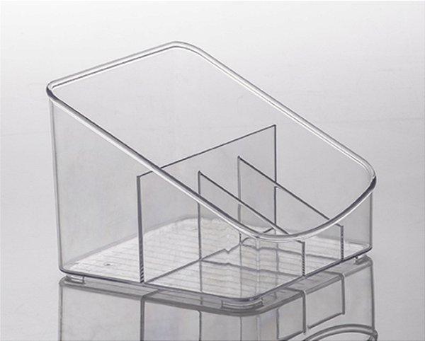 Organizador Diamond Com Divisórias - 18 x 13 x 17 cm