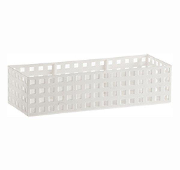 Organizador Empilhável Quadratta - 32 x 8 x 11,5 cm