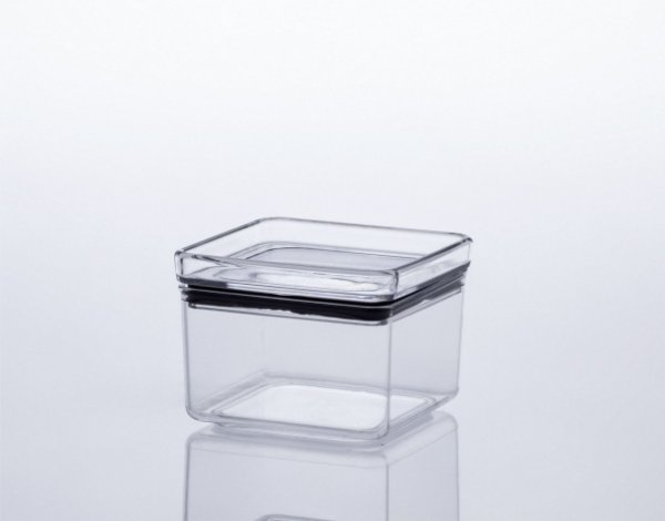 Pote Hermetic Lumini Quadrado - 480 ML
