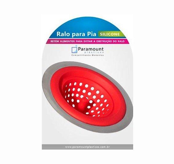 Ralo Para Pia Silicone - 11,5 x 3,5 cm