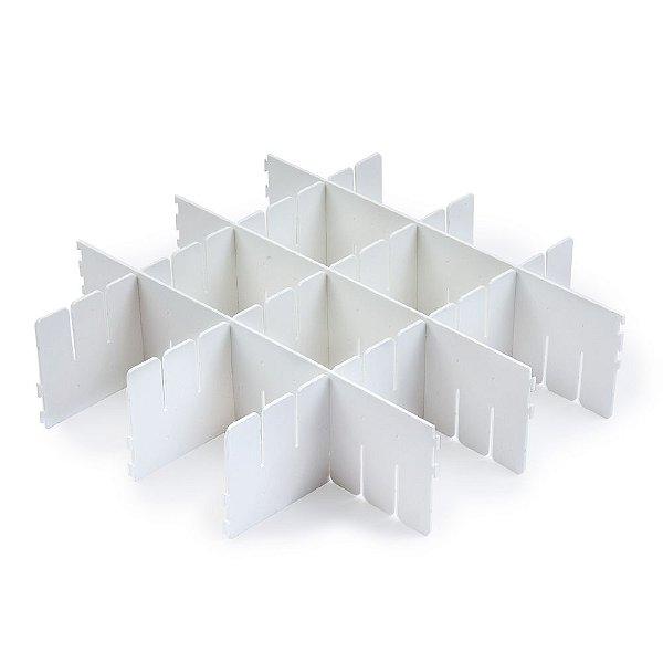 Conjunto Com 4 Organizadores de Gavetas - 30 x 8 cm