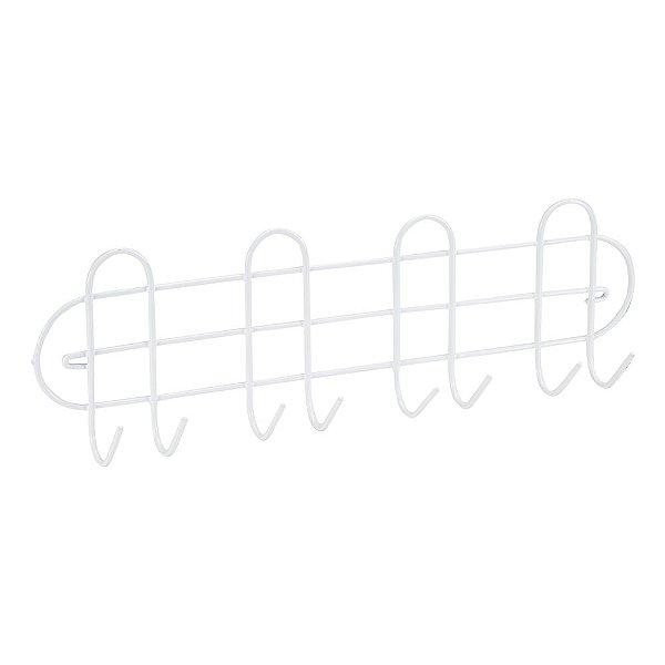 Porta Vassouras Linha White - 41 x 12 cm