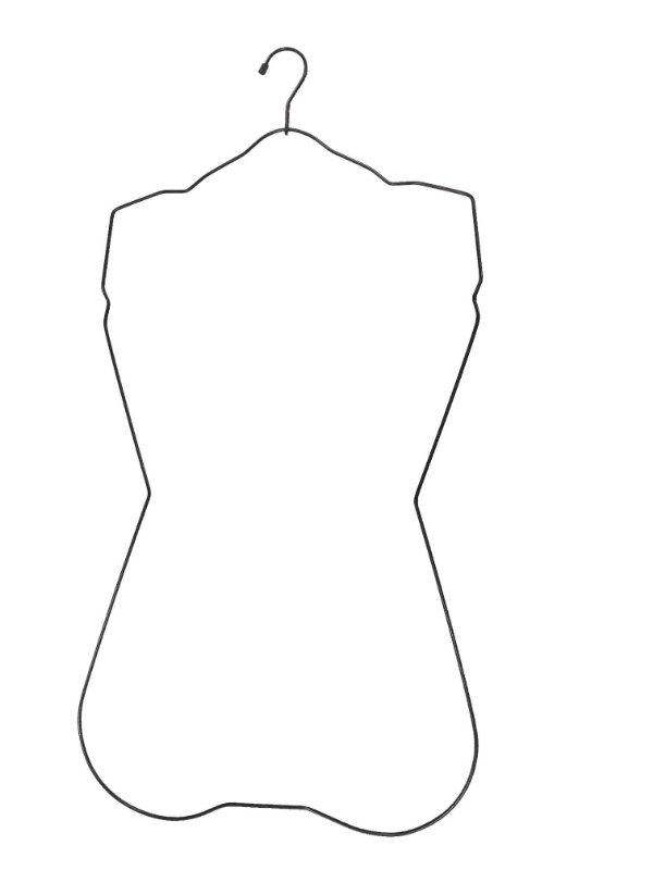 Cabide Para Maio Juvenil - Cx 12 Unid - 67 x 39 x 35 cm