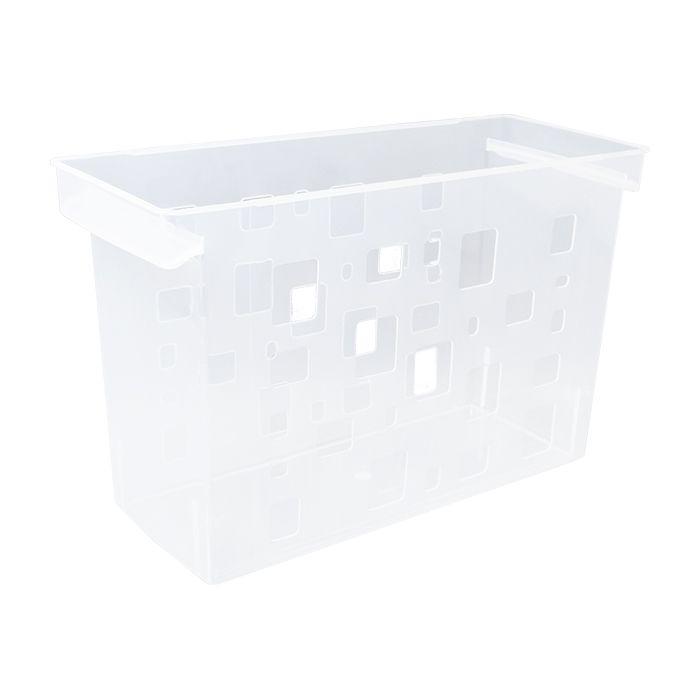 Caixa Arquivo Cristal Sem Pasta Suspensa