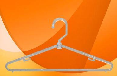 Cabide Giratório Fino Transparente - 41,5 x 19 cm