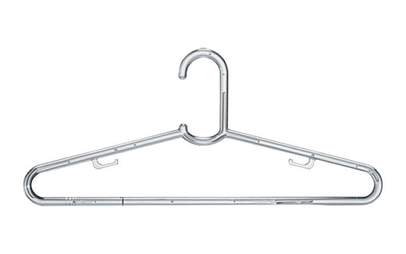 Cabide Transparente Clássico Grande - 44 x 18 cm