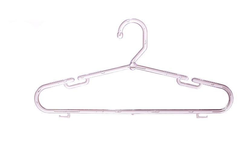 Cabide Transparente Cavado Fixo Caucho - 50 x 25 cm