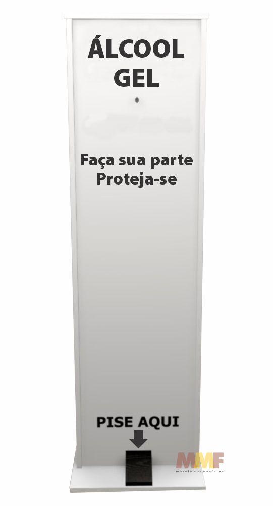 Totem Álcool Gel em MDF 15mm