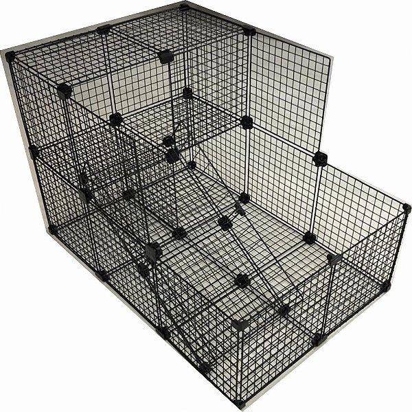 Gaiola Para Pets Tela Especial - 90 x 60 Tela: 2,5cm