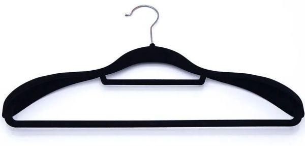 Cabide Veludo Slim Fixel Para Terno Com Ombreira - 45 x 23 cm