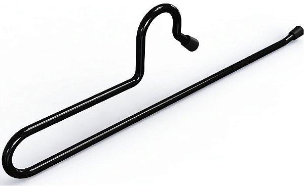 Cabide Para Calça Preto - 30 x 9 cm